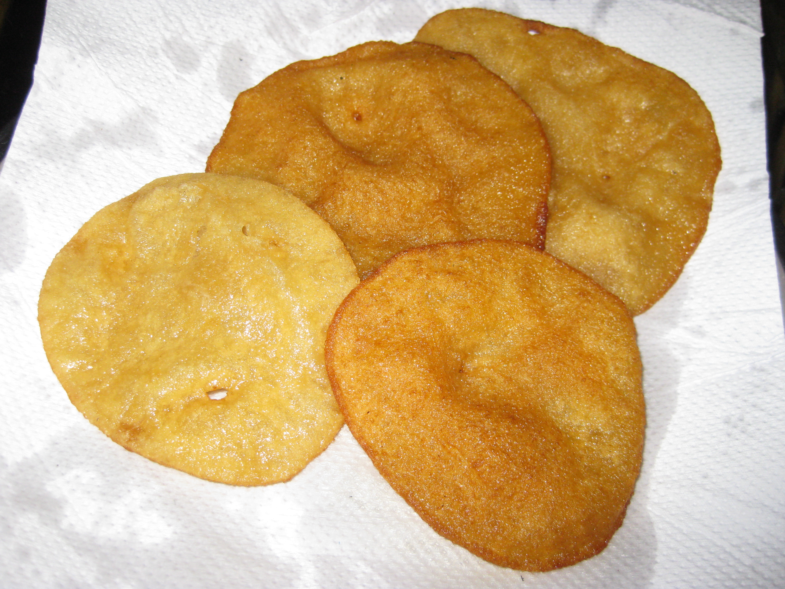Sweet Puris