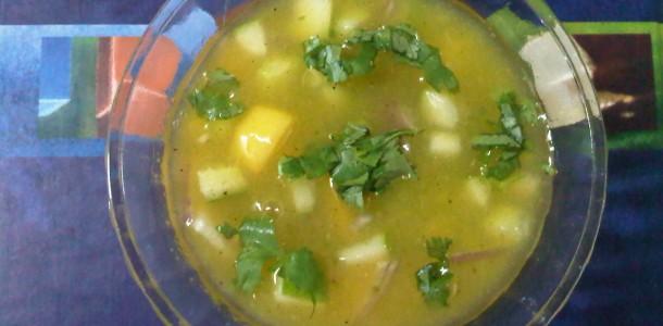 Mango & Cucumber Soup