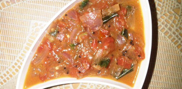 Tomato Curry-Gojju