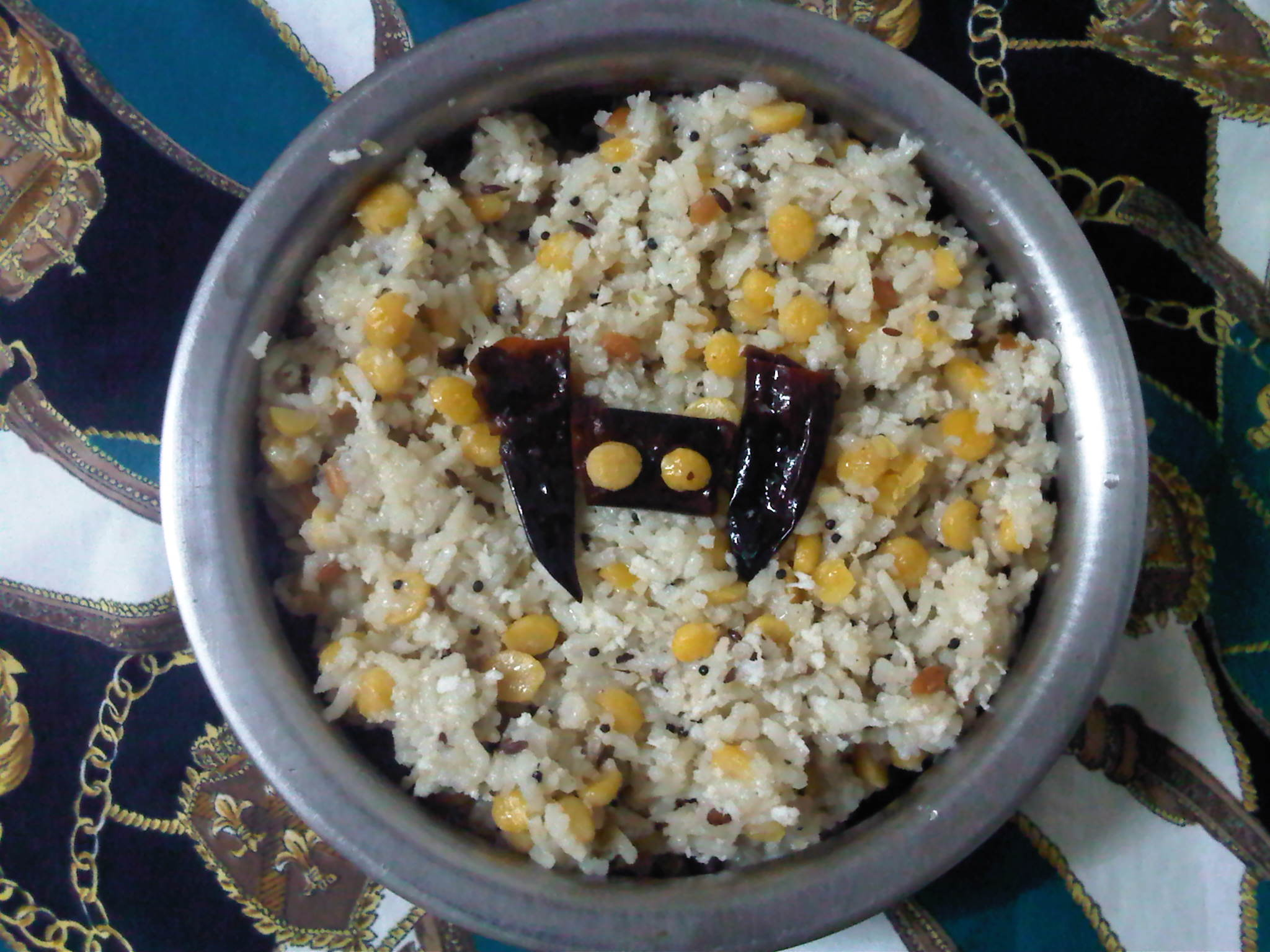 Coconut Channa Rice