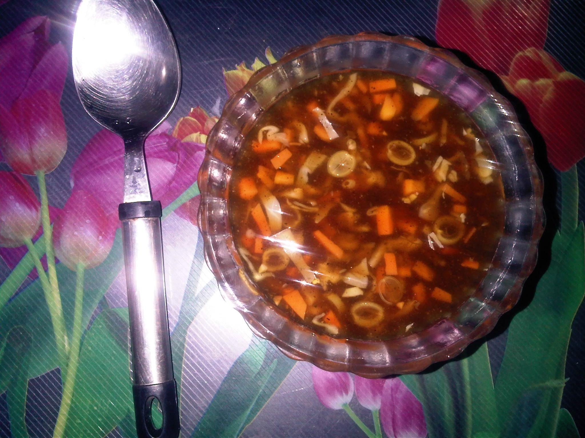 Hot & Sour Veg Soup
