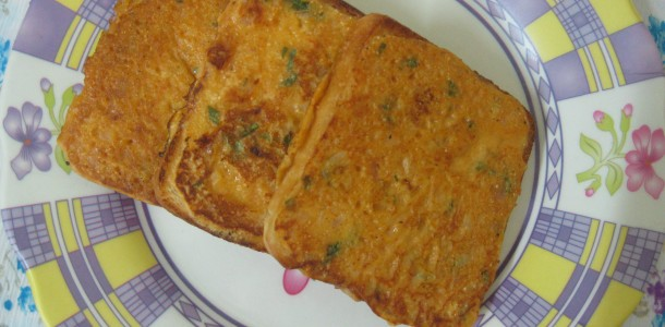 Spicy Bread Toast