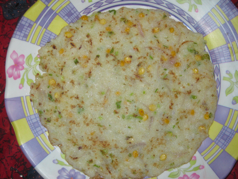 Easy Rava Roti