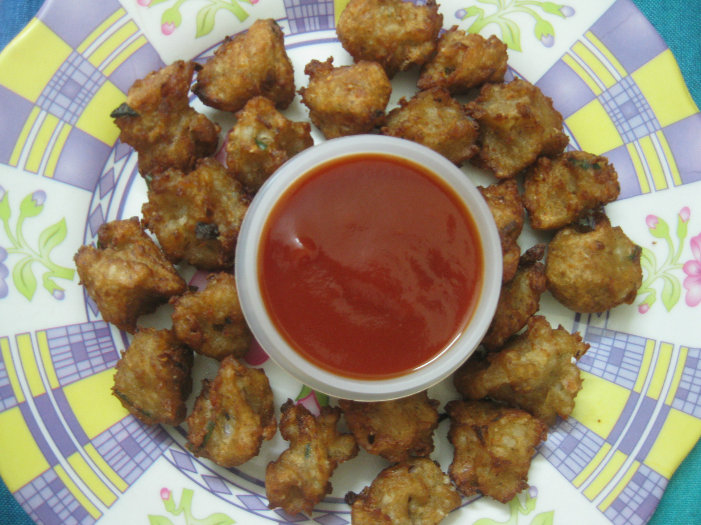 Pakoda frm Left Over Rice