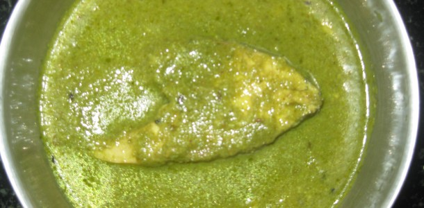 Green Fish Masala