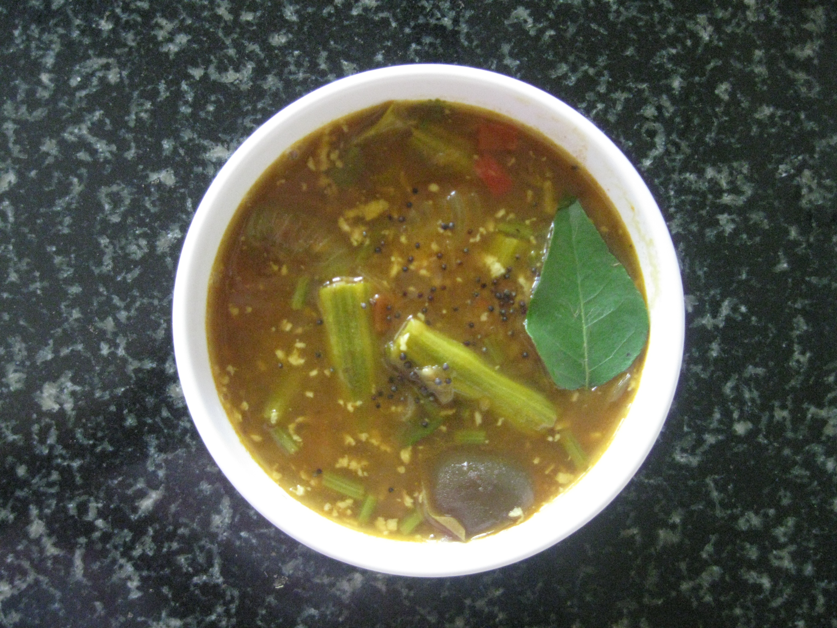 Drum-Stick Sambar