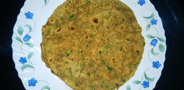 Spiced Methi Paratha