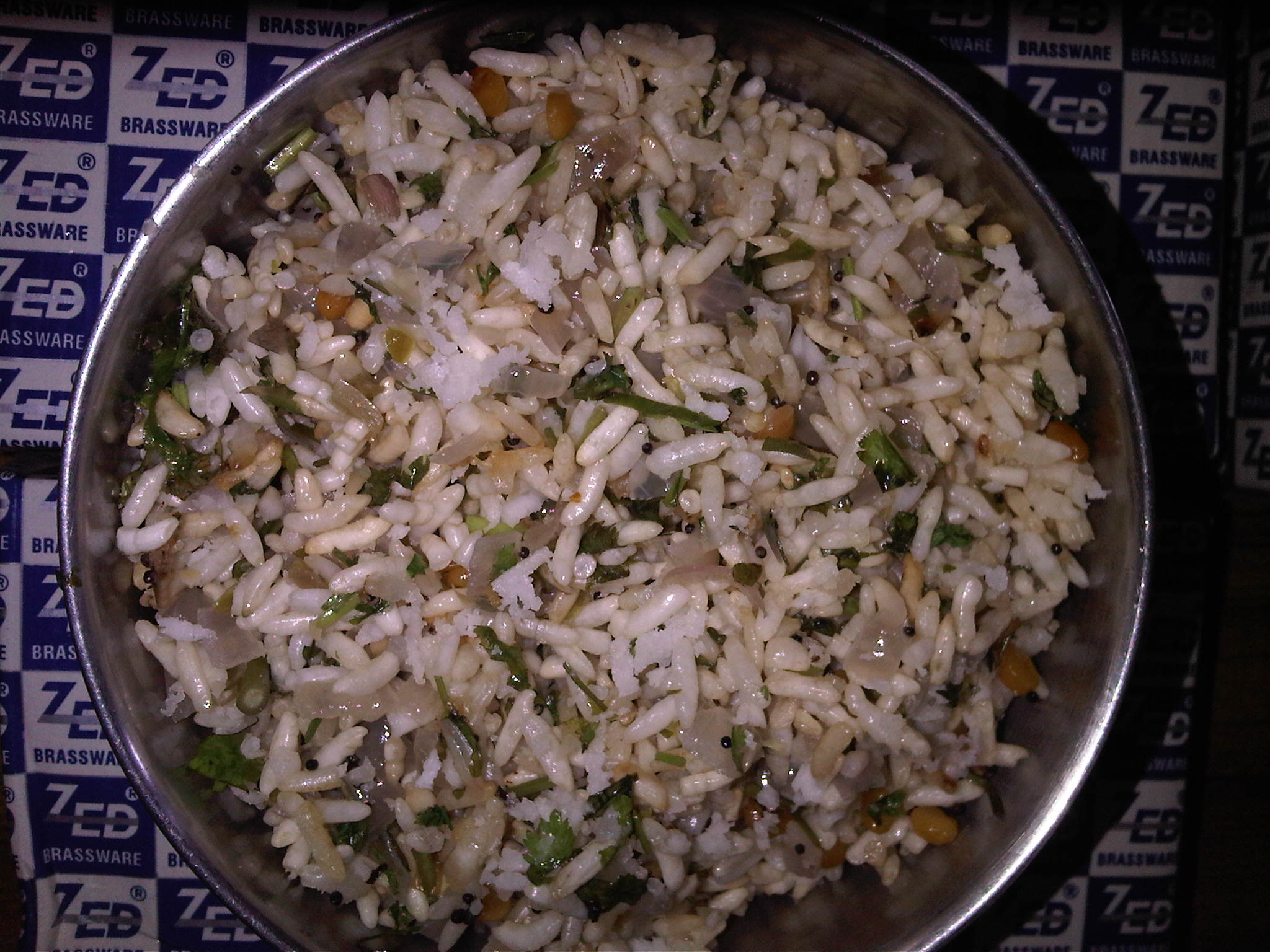 Spicy Puffed Rice