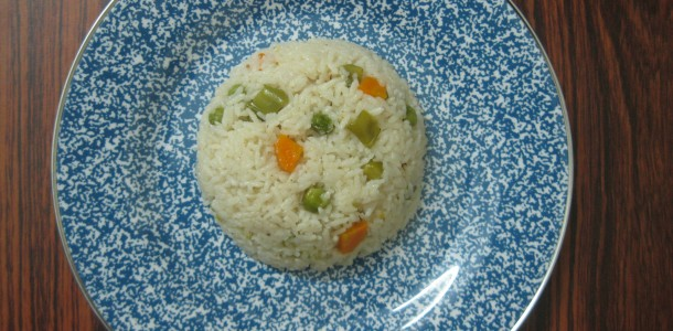 Simple Vegetable Rice