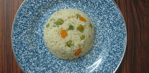 Simple Vegetable Rice