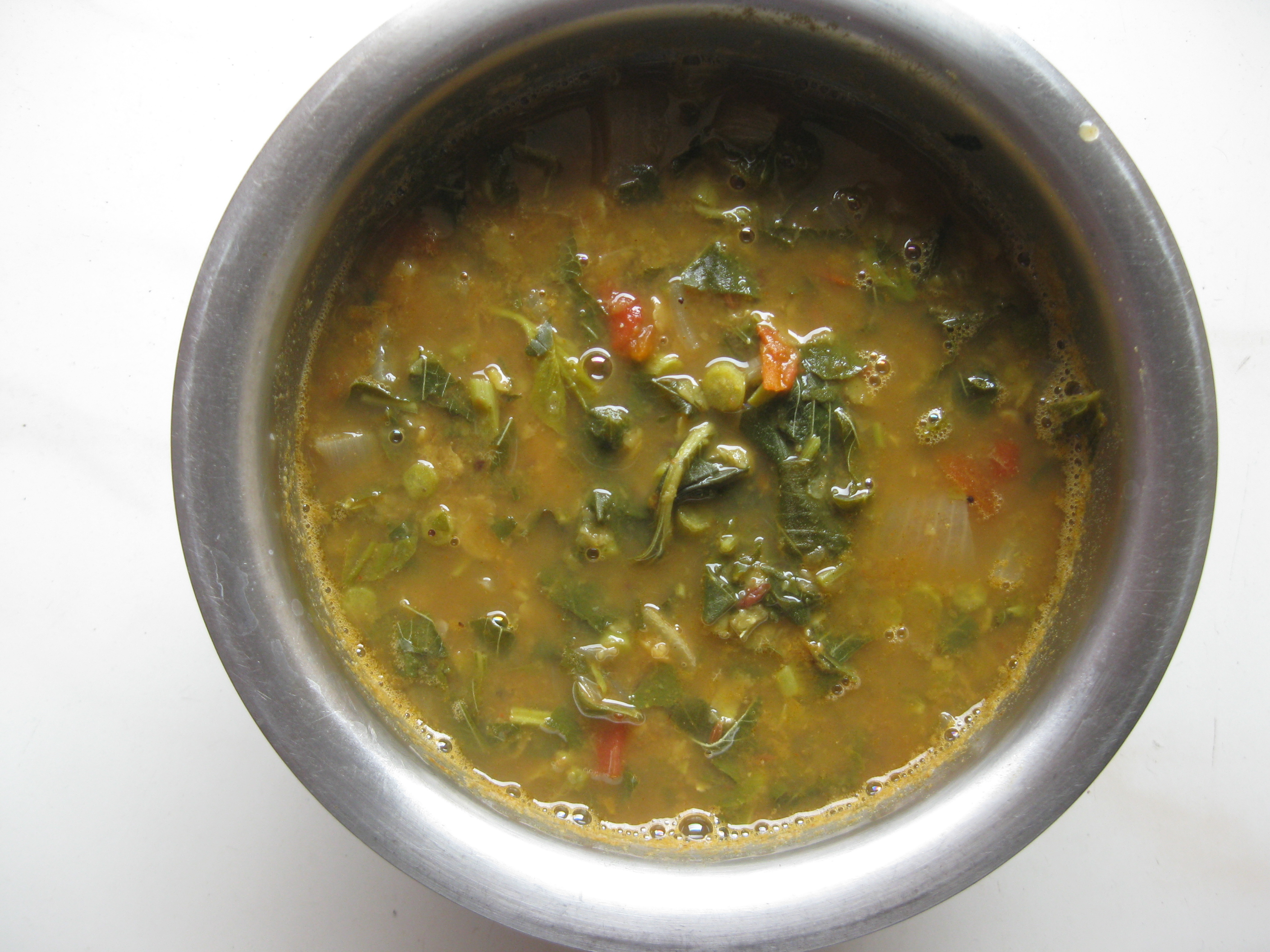 Amaranth Leaves Sambar