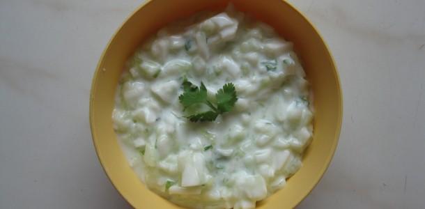 Cucumber Raitha