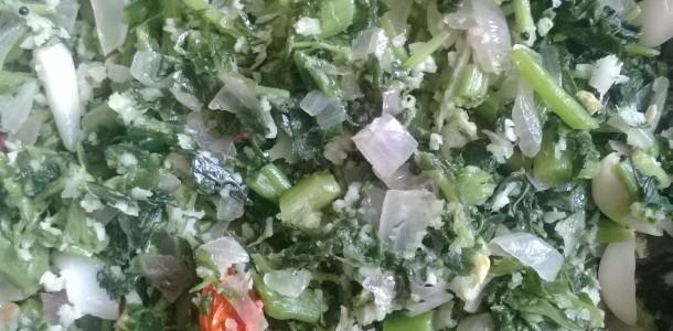Amarathus Leaf Stir Fry