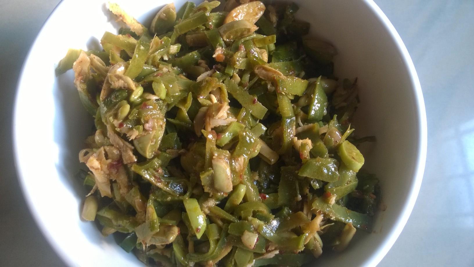 Broad Beans Stir Fry