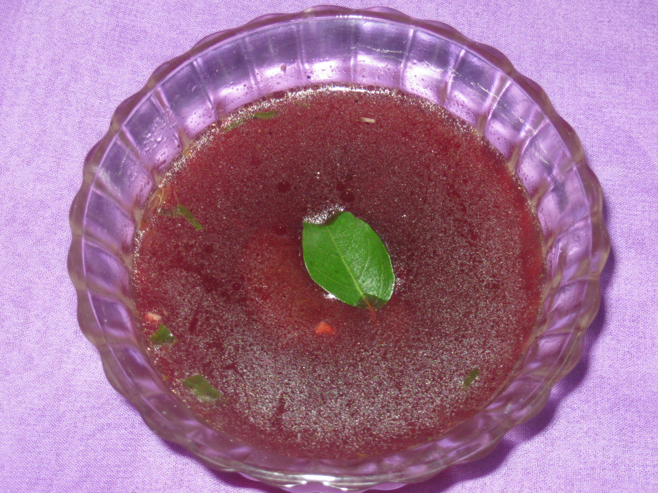 Carrot - Beetroot Soup
